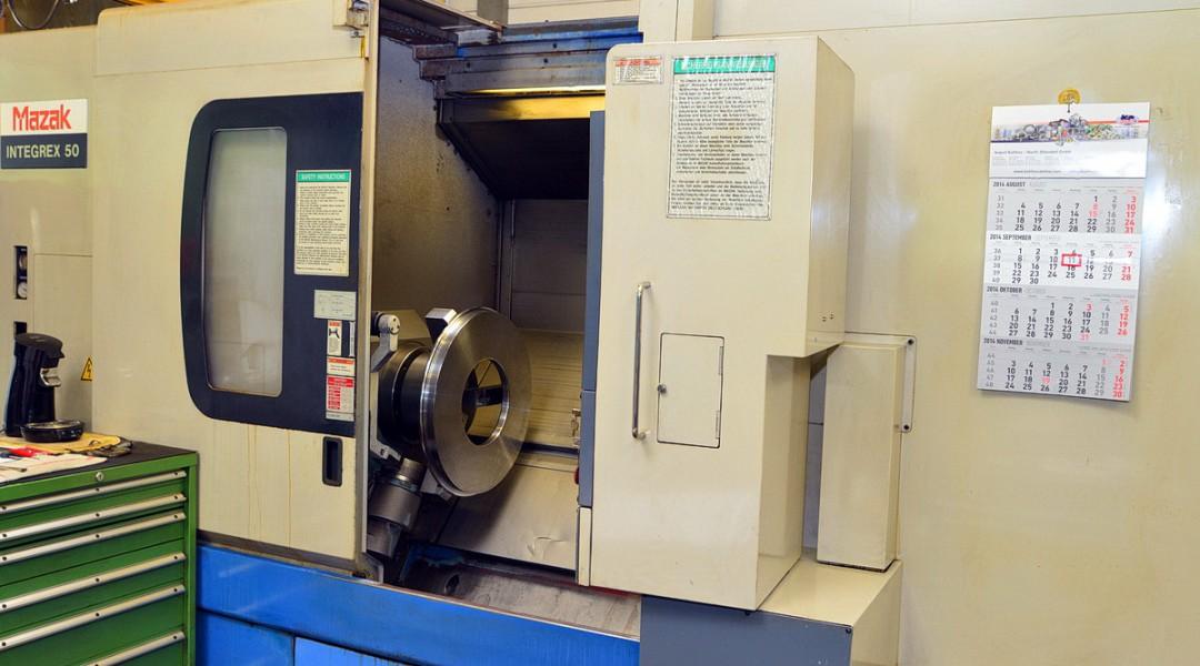 Dreh- Fräsmaschine